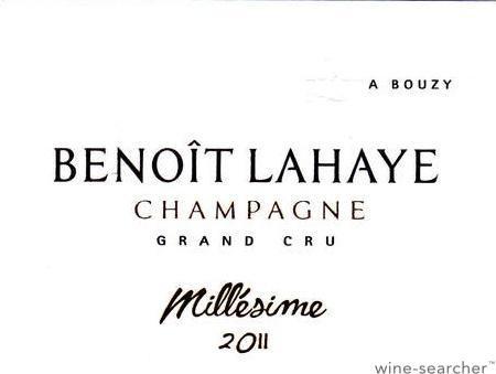 Champagne Benoit Lahaye Grand Cru Millesime 2015