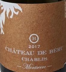 2018 Chablis Montserre Chateau de Beru