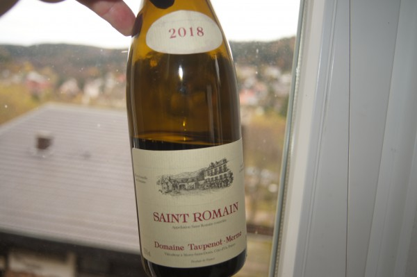Saint-Romain Rouge 2018 Côte de Beaune