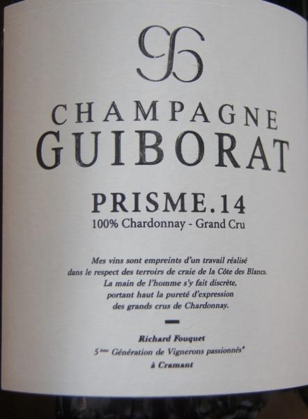 Champagner Prisme .16 100% Chardonnay Grand Cru Guiborat