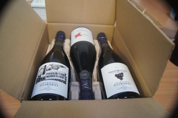Champagner Guiborat Prohibition 100% Pinot Meunier Zero dosage