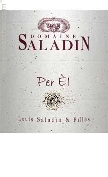 Domaine Saladin Cotes du Rhone Villages blanc » Per El « 2018