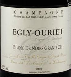 Egly-Ouriet Blanc de Noirs Vieilles Vignes Deg Juli 2021