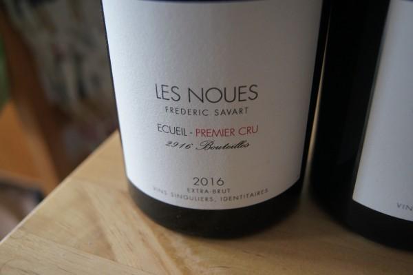 Champagne 1er cru - Les Noues Ecueil 2016 Extra Brut Savart