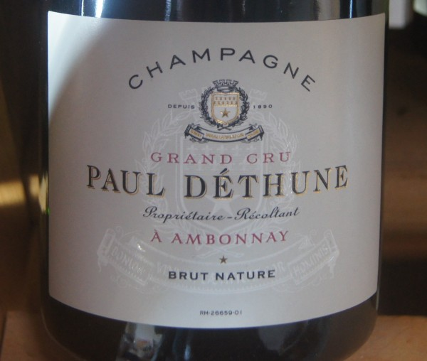 Champagne Paul Déthune Grand Cru Brut Nature