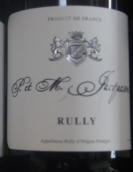 Rully blanc 1er Cru La Pucelle 2019 Paul et Marie Jacqueson