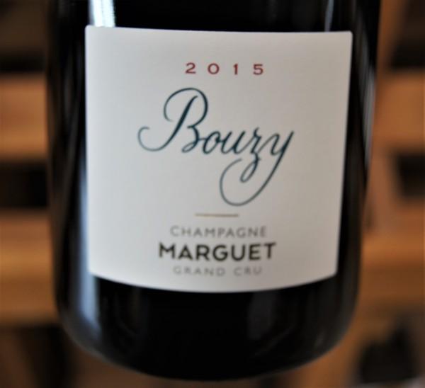 Champagne Grand cru Bouzy 2015 Flaschengärung Extra Brut