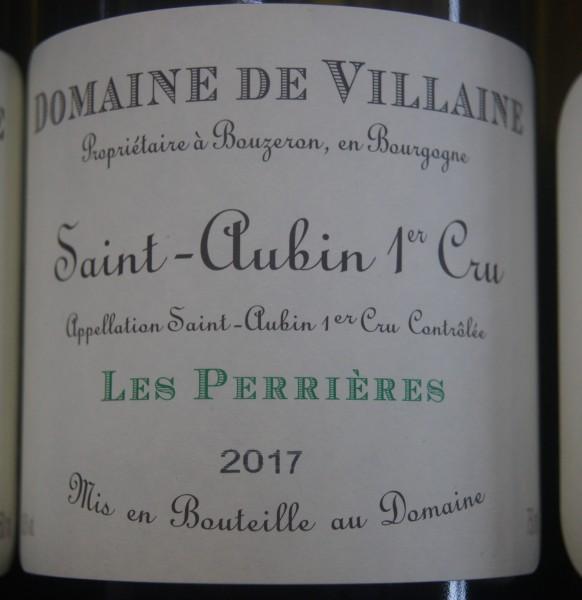 Saint-Aubin 1er Cru Les Perrières A. et P. de Villaine 2017