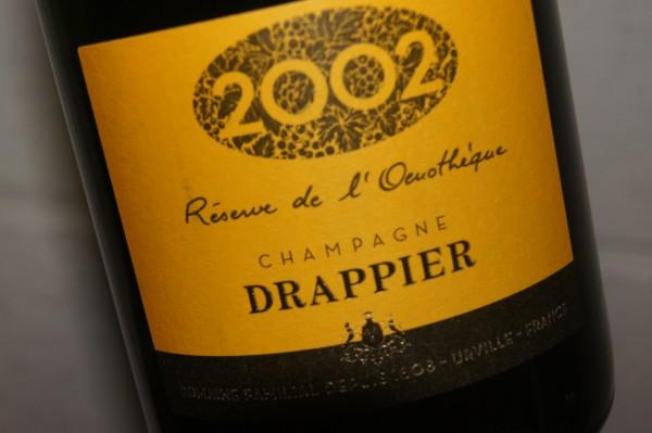 Champagne Drappier Reserve de l'Oenotheque 2002