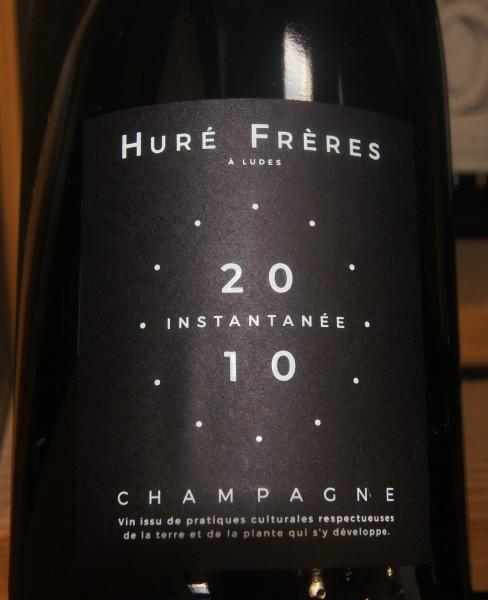 2014 L'Instantanee Extra Brut, Hure Freres