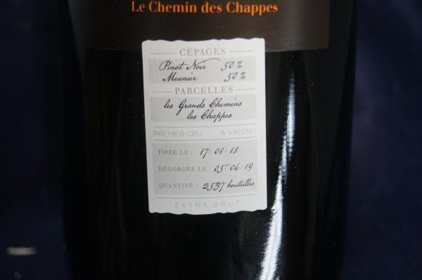 Champagner Le Chemin des Chappes 1er Cru Extra Brut