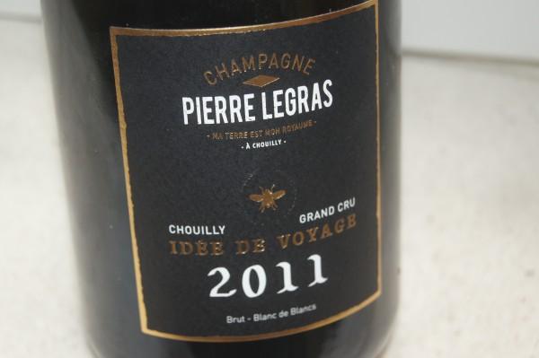 "Champagne Blanc de Blancs ""Idee de Voyage"" 2011 Grand Cru"