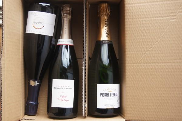 Champagners 3 Regionen-Angebot