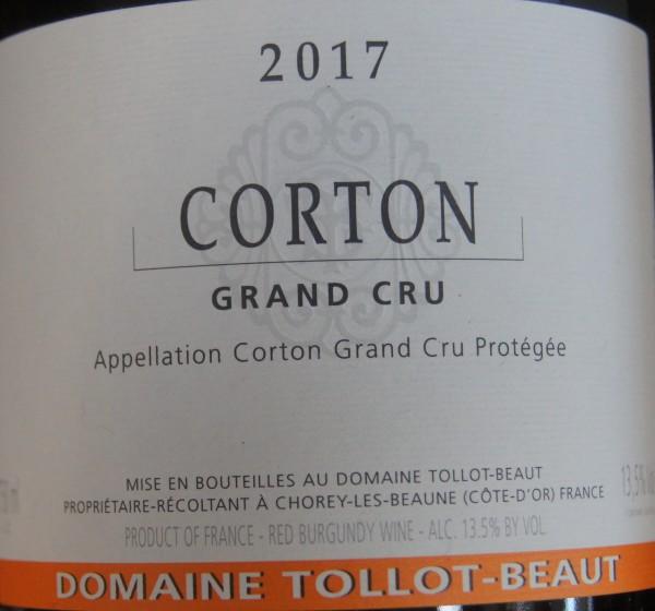 Corton Grand Cru 2017