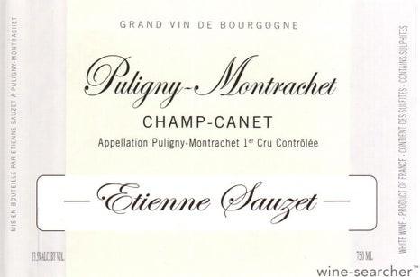 2016 Puligny-Montrachet 1er Cru Champ Canet Etienne SauzetEtienne Sauzet
