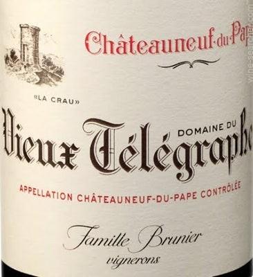 Chateauneuf-du-Pape Vieux Telegraphe 2017 Domaine du Vieux Télégraphe-Copy