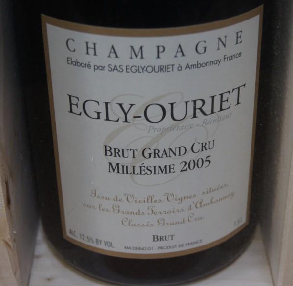 Millésime 2005 Brut Grand Cru Magnum