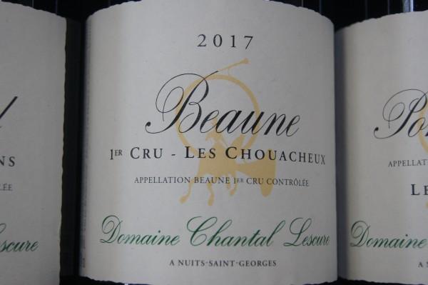 Chantal Lescure Beaune 1er cru Les Chouacheux 2017
