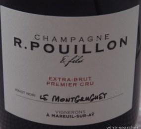 Champagne 1er cru Le Montgruguet Extra Brut R. Pouillon et fils
