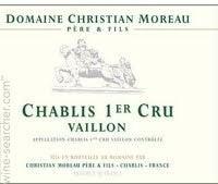 Chablis 1er Cru Vaillons Christian Moreau 2018