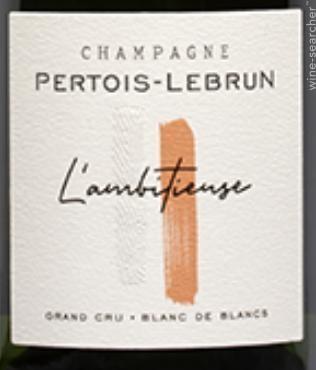 Pertois-Llebrun l'ambitieuse grand cru blanc de champagne extra brut
