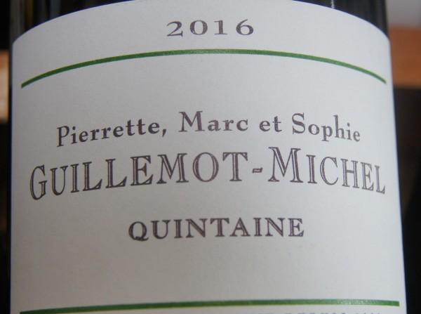 Viré-Clessé Quintaine 2016