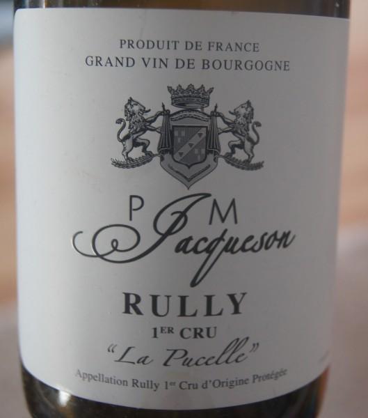 Rully Blanc 1er Cru La Pucelle 2018