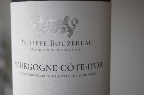 Bourgogne Côte-d'Or Blanc 2019 Philippe Bouzereau