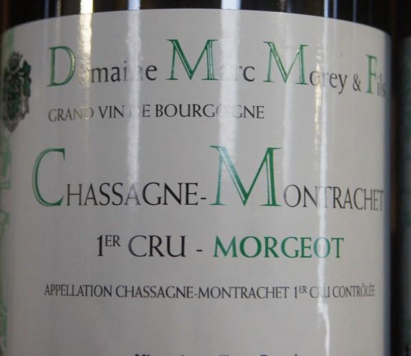 Marc Morey & Fils, Chassagne-Montrachet 1er Cru, Morgeot, 2017