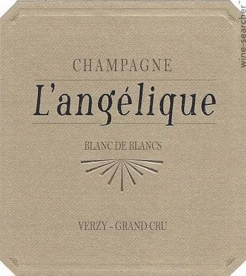 """Champagne Extra Brut Blanc De Blancs Verzy Grand Cru """"langelique"""" 2014, Mouzon Leroux"""