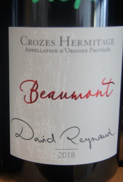 Crozes Hermitage Beaumont 2018