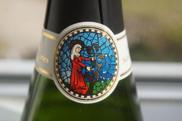 Champagne Pur Blanc de Blancs Brut Saint Pierre-les-Dames