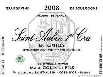 Saint-Aubin 1er Cru En Remilly Domaine Marc Colin et Fils, Bourgogne blanc