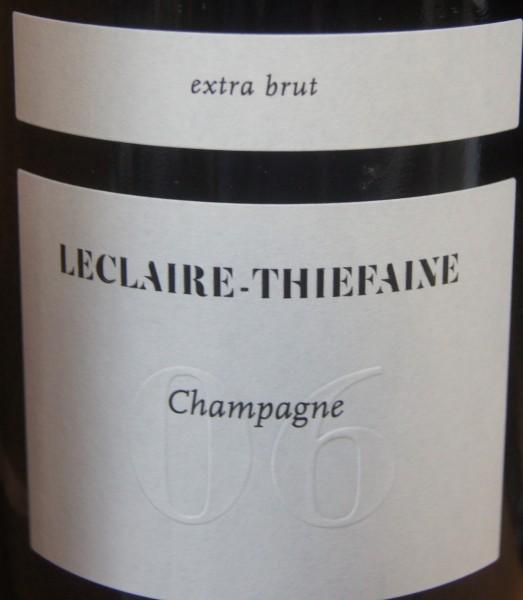 Champagne Leclaire-Thiefaine Champagne Extra Brut Cuvee 6