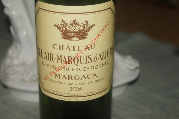 2003 Bel Air-Marquis d'Aligre, Margaux, Grand Cru Exceptionnel