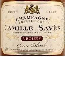 Champange Carte Blanche Brut Camille Saves