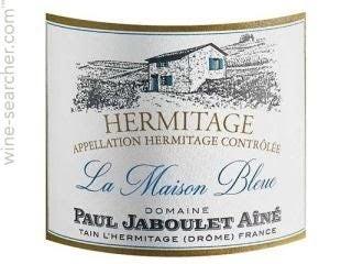 """Paul Jaboulet Aine - Hermitage """"La Maison Bleue"""" 2017"""
