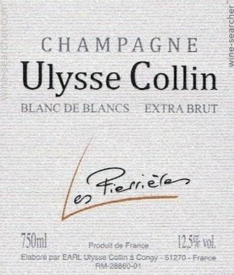 Ulysse Collin Les Pierrieres Blanc de Blancs Extra Brut NV