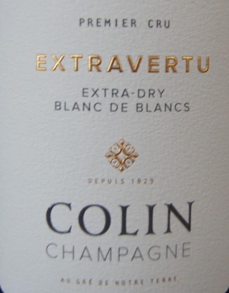 Cuvée Extravertu Blanc de Blancs – Premier Cru Colin
