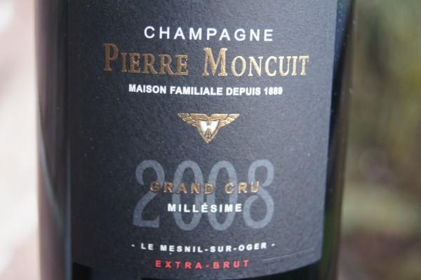Pierre Moncuit Millesime 2008 Extra Brut Blanc de Blancs