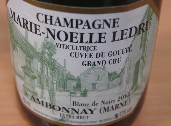 Champagne Cuvée du Goulté GC Blanc de Noirs 2013 Extra Brut