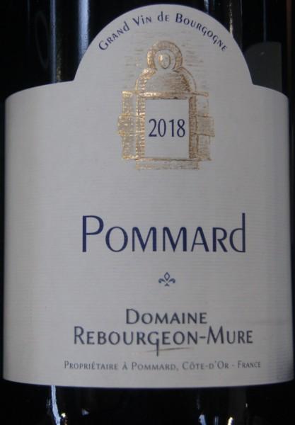 Pommard Rebourgeon-Mure 2018 Pinot Noir