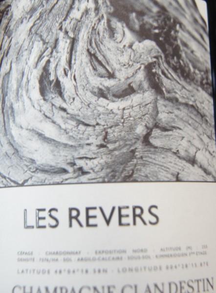 Champagne Clandestin Les Revers Brut Nature
