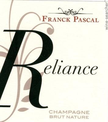 Champagner Franck Pascal reliance Brut nature