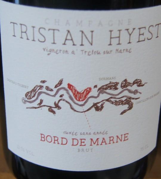 Champaagne Tristan Hyest Bord de Marne Brut