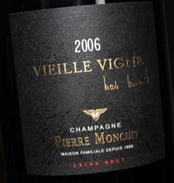 Cuvée Nicole Moncuit Vieille Vigne Millésime 2006