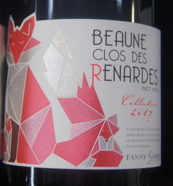 Beaune Rouge 2018 Domaine Fanny Sabre