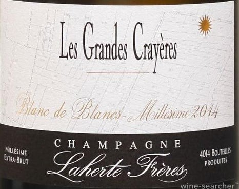 Champange Les Grandes Crayeres 2017 Extra Brut Laherte Freres