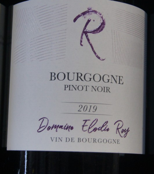 Bourgogne Rouge 2019 Elodie Roy