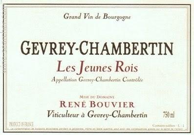 "Domaine Rene Bouvier : Gevrey-Chambertin Village ""Jeunes Rois"" 2018"